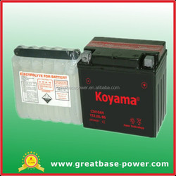 YTX10L-BS 12V10Ah battery, 12V motorcycle battery, electric motorcycle battery