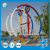 Outdoor park ring game amusement rides for adults Ferris Ring Car for sale