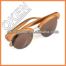 Lower price UV400 custom wood sunglasses