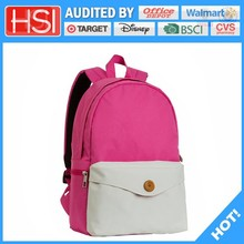 audited factory wholesale price classical pvc school bag