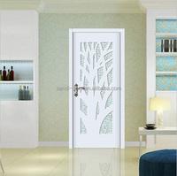 new design interior wooden glass door mordern glass pocket door