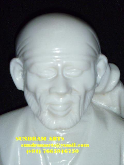 Shirdi Sai Baba marbre statue