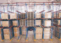 Temporary warehouse structures,Modular home storage quality push back racking