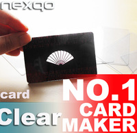 Economic Cheapest pvc card barcode card business card