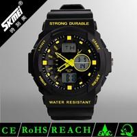 50m waterproof plastic waterproof watch man sport wristwatch