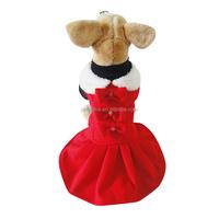 wholesale Pretty dog dress lady dog dress pet skirt