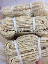 AAAA Vietnam human single drawn straight machine wefted hair