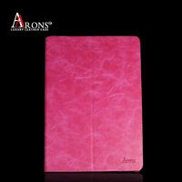 Customize case genuine leather for ipad mini case