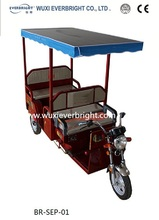 electric and solar rickshaw solar passenger tricycle