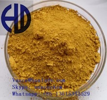 China manufacturer iron oxide yellow for glass Light permanency and weatherability