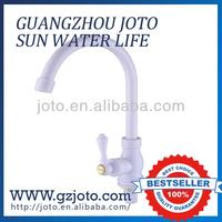 white color ABS plastic kitchen water tap/faucet/joto sink cock
