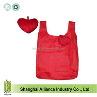 Wholesale Promotion Nylon Collapsible Shopping Bag, Foldable Shopping Bag