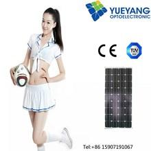 High efficency SUNPOWER 100 watts, 130 watts fabric folding solar panel, cloth foldable solar panels