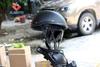 HT-5009-MB ABS Flat Black Half Helmet, waterproof Shockproof high protective Adult new model Half Helmet motorcycle, Medium