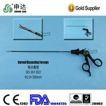 reusable steel Medical equipment Surgical operation Curved Dissecting Forceps