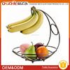 Europe Design Commercial Chrome Fruit Basket, Commercial Good Quality Metal Fruit Basket