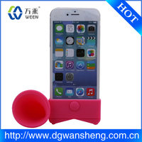 best price silicone horn speaker for iphone 6