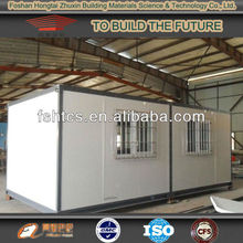 Movable container house for living