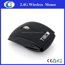 Computer Hardware Foldable Arc Design 2.4G Wireless PC Optical Mouse
