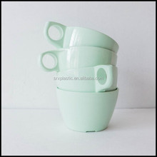 Mint Green Plastic Coffee Cup Melamine Ware made in china Supply,oem plastic coffee cup,custom elegant coffee cup plastic cups