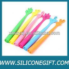 finger shaped silicon pen
