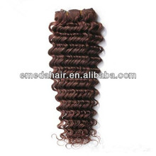 Fashion Synthetic hot sale hair products Curly Hair Weave