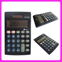 8 digit pocket dual power calculator,solar calculator