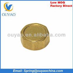 Brass mechanical pipe plug