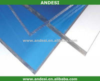 6mm clear plastic polycarbonate panel for roofing cover