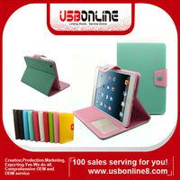 New stylish Magnetic PU Leather Folio Smart Case Cover for iPad Mini