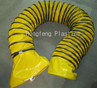 wind energy and shipbuilding engineering with marine pvc flexible hose ducting
