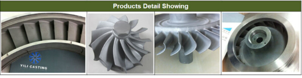 precision iron castings used for outboard motor jet engine