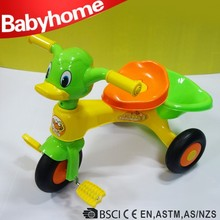 lovely cute kids trike bike hot sale two seats baby tricycle