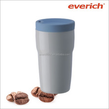 Promotional ceramic coffee mug with cover 300ml