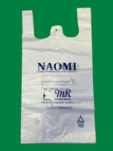 manufacture of bio plastic bag for supermarket, Biodegradable shopping bag