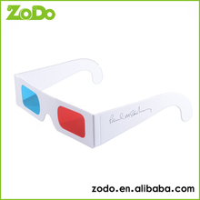 VR polarized 3d fashion glasses make the movie colorful and exciting