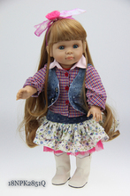 18'' tall girl doll