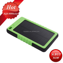 18650 solar battery charger 8000mah 5V/2.1A