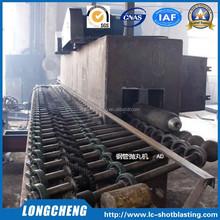 fabbrica diretta design di trasporto in acciaio tipo pipe sabbiatrice