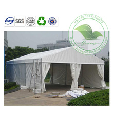 Large Low Cost Waterproof White PVC Coated Fabric Building/Removable Warehouse/Storage Shed
