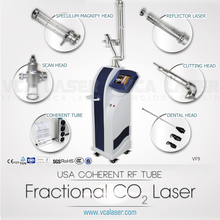 USA Coherent Metal Tube Medical RF amber fractional co2 laser beijing
