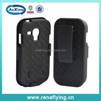 Hybird belt clip cover case for samsung galaxy s3 mini wholesale