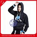 Moda personalizada diseñado fleece con capucha para hombre