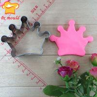 crown shape cookie cutter custom handmade cookie cutters Food grade steel raw material