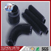 Custom molded rubber bellows tube