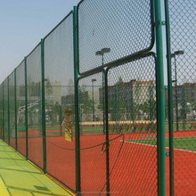 Professional pvc coated tennis court fence netting