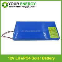 solar power battery 12v lifepo4 batteries lithium batteries solar battery charger