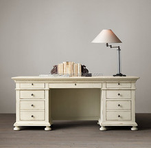 Vintage French Country Office Desk SC2