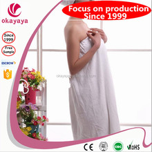 Woman's sex and soft cotton bathrobe for home use ,hotel use