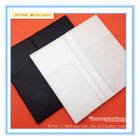 high quality pu leather passport holder for promotion gift